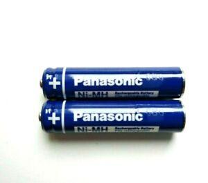 2X Panasonic Original BK-30AAABU Rechargeable Phone Batteries 300mAh replacement