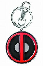 Marvel Deadpool Logo Pewter Keychain