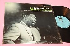 MUDDY WATERS LP MUD IN YOUR EAR ORIG USA 1973 EX+ TOP BLUES SHRINK COVER