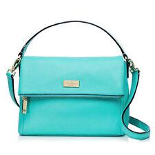 Kate Spade Bag WKRU2922 Highland Place Mini Maria Giverny Blue & WALLET SET