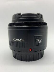 Canon EF 50mm 1:1.8 II EF Lens