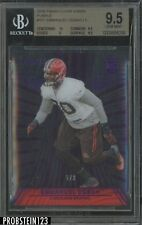 2016 Panini Clear Vision Purple Emmanuel Ogbah Browns RC Rookie 5/9 BGS 9.5