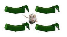 4x riutilizzabili Humane Mouse Trap Topi Insetti Roditore inosservato controllo non letali basati su nuovi