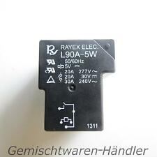 Relay 5V Control Voltage 230V 30A POWER RELAY 30V 20A Ampere Volt l90a-5w