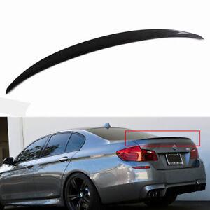 Carbon Fiber Rear trunk Spoiler Performance For BMW 5 series 535 520 528 F10 M5
