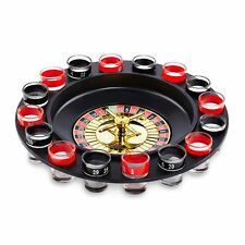 Shot Roulette Drinking Game 16 Shot Glasses Party Game Drinking Game By Paladone