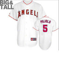 4e1863598 MLB Majestic Big & Tall Los Angeles Angels #5 Baseball Jersey New Mens Sizes