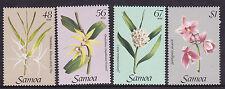 1985 Samoa Orchids - MUH Complete Set