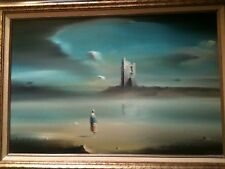 Robert Watson signed original oil painting.