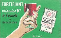 Buvard Vintage  Fortifiant Vitaminé B1 à L'uvaria de Madagascar