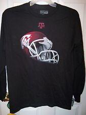 Texas A & M A&M Aggies Football Black Long Sleeve Shirt Mens Size 2XL XXL NWT