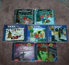 Hörbücher für Jungs 13 CDs u.a. TKKG, Fünf Freunde, Asterix und mehr