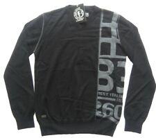 Biaggio Couture señores suéter negro talla L