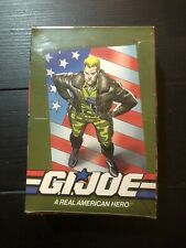 1991 Impel GI Joe Official Trading Cards. Factory Sealed Box. 36 Packs.New