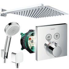 Hansgrohe Shower Select Thermostat Unterputz Duscharmaturenset Duschteller 30 cm