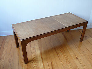 GRAND TABLE BASSE EN TECK VINTAGE  ANNEES 60 50 DESIGN SCANDINAVE 1970