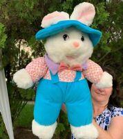 "RARE LARGE Vintage MTY International Bunny Rabbit 22"" Plush Stuffed Animal Toy"