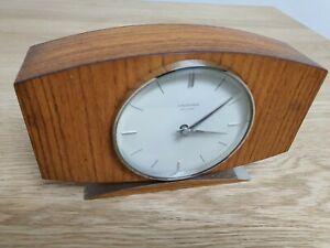 JUNGHANS Ato-MAT Tisch Uhr Stand 60er 1960 alt antik vintage Sammler Zustand