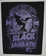 BLACK Sabbath-Lord Of This World-Back Patch - 30 CM x 36,3 cm - 164675