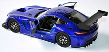 Mercedes AMG GT3 Coupé 2015 -17 azul azul metalizado 1:24 MOTORMAX
