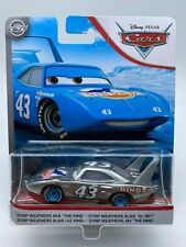 """Disney Pixar Cars Diecast Strip Weathers The King Silver Collection """"RARE"""""""