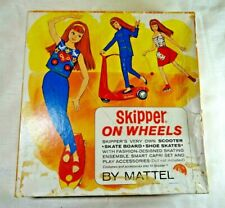 Vintage Skipper On Wheels #1032 Unopened Gift Set 1964