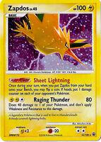 Zapdos Holo Rare Pokemon Card DP5 Majestic Dawn 14/100