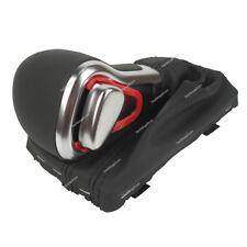 Leder Automatik Schaltsack Schaltknauf Rahmen für Audi A3 A4 A5 A6 Q7 NEU