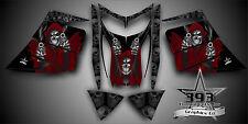 SKI-DOO REV MXZ SNOWMOBILE SLED WRAP GRAPHICS DECAL KIT 03-07 Reaper Red