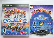 F1 Race Stars (Sony PlayStation 3, 2012) Complete in Box and Tested VG