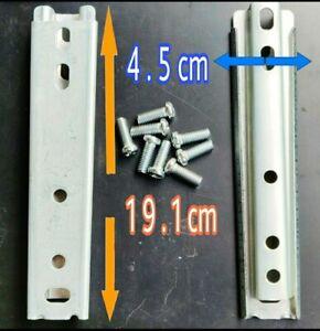 LARGE Headboard Wall Mounting Brackets Concealed Fixing Interlocking Heavy Duty
