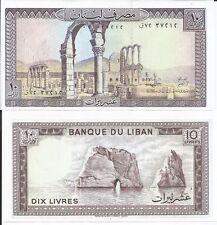 LIBANO 10 LIBRAS 1986 P 63 TACO DE 100 BILLETES
