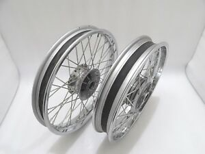 """fit for ROYAL ENFIELD 19"""" FRONT & 18"""" REAR WHEEL RIM SET FOR CLASSIC C5 UCE"""