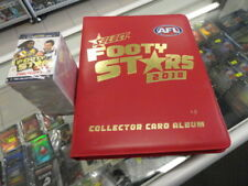 2018 AFL SELECT FOOTY STARS BASE SET AND ALBUM ONLY 222 CARDS