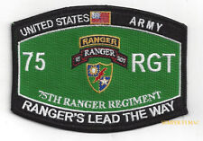 75th RANGER REGIMENT PATCH US ARMY RANGERS VETERAN GIFT FORT BENNING SPECIAL OPS