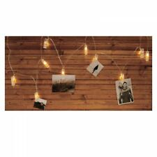 Fotoleine Lichterkette mit Clip Fotohalter Fotoleine Instaxbilder Klammerlichter