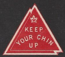 """Canada Cinderella stamp: cc3505 W/WII """"Keep Your Chin Up"""", MNH - dw8a"""