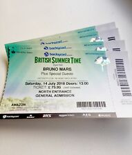 Bruno Mars Tickets Hyde Park 14th July