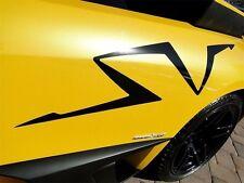 2x Sticker kit for Lamborghini Galardo Murcielago diablo SV light carbon bumper