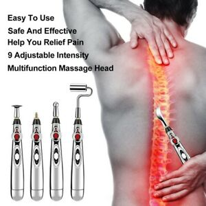 Electronic Massage Therapy Zen Pen Acupuncture Meridian Body Pain Relief Energy