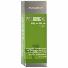 Doc Johnson Desensitizing Prolonging Delay Spray for Men 2 Oz