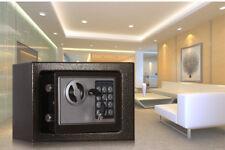 HIGH SECURITY DIGITAL ELECTRONIC SAFE STEEL BOX WALL JEWELRY GUN CASH BLACK