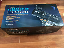 Celestron AstroMaster 114 mm Eq Reflector Telescope on Equatorial Mount