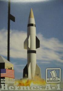 Hermes A-1, US Test Rocket, Brengun, 1:72, Plastic Model Kit