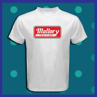 Mallory Ignition Logo Vintage Holley NEW Men's White T-Shirt S M L XL 2XL 3XL