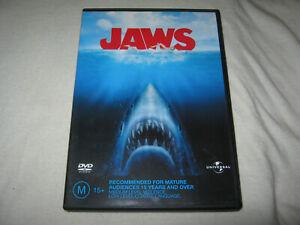 JAWS - Robert Shaw - VGC - DVD - R4