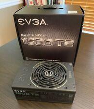 EVGA Supernova 1600 T2 80 Titanium 1600w Power Supply 10 YR PSU, Nice!