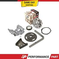 Timing Chain Kit Water Oil Pump for 99-07 Chevrolet Pontiac Oldsmobile 3.1 3.4