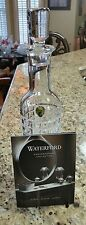 WATERFORD  CRYSTAL  LONDON  WHISKEY CONTEMPORARY TALL DECANTER
