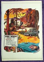 Original 1983 🔥LOST WORLD NATIONAL PARK🔥 Penthouse Magazine Cartoon Eglesfield
